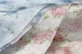 Printed Flower Design Crystal Organza Fabric 3