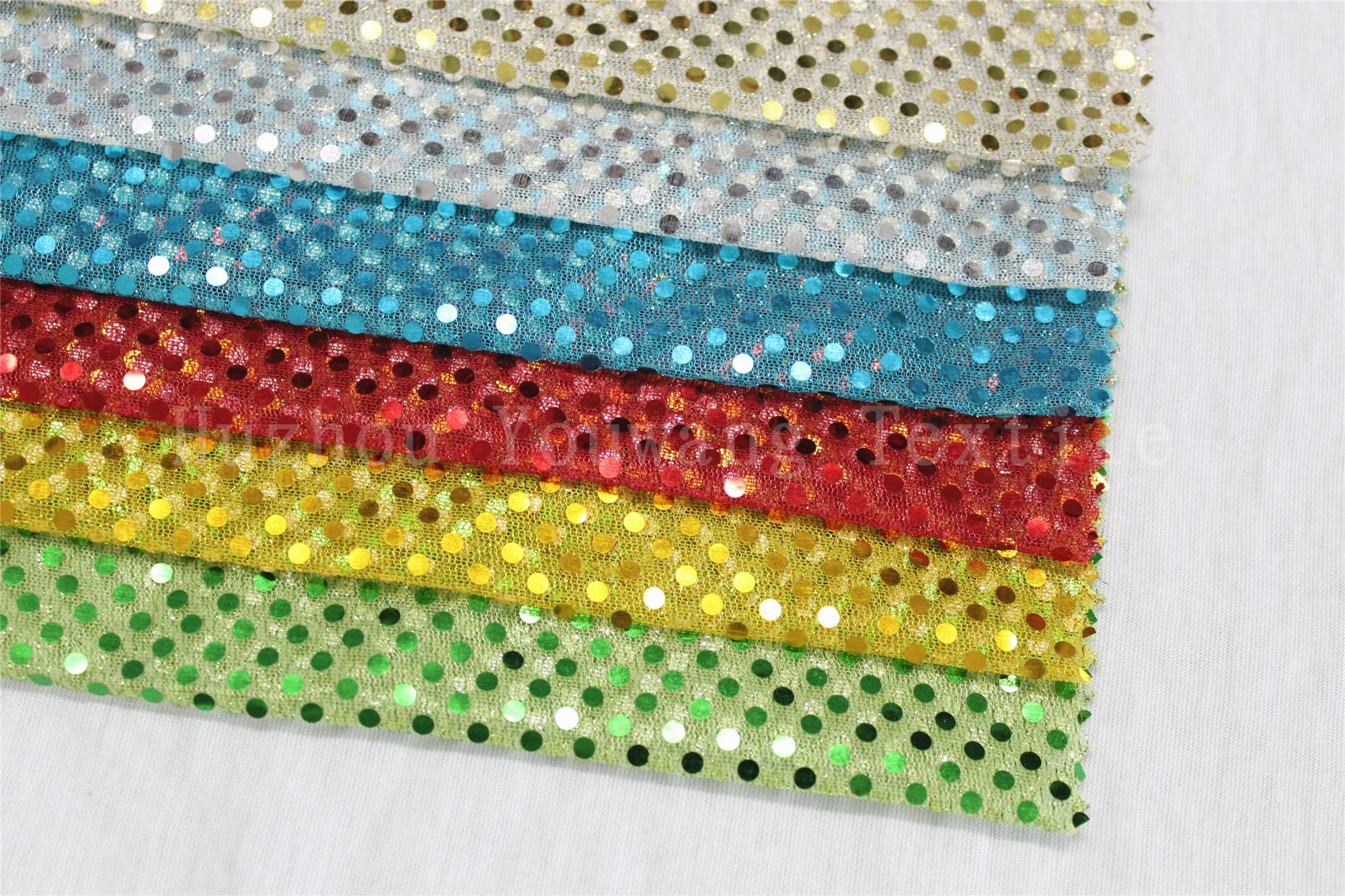 3MM Sequins Knitted Fabric 1