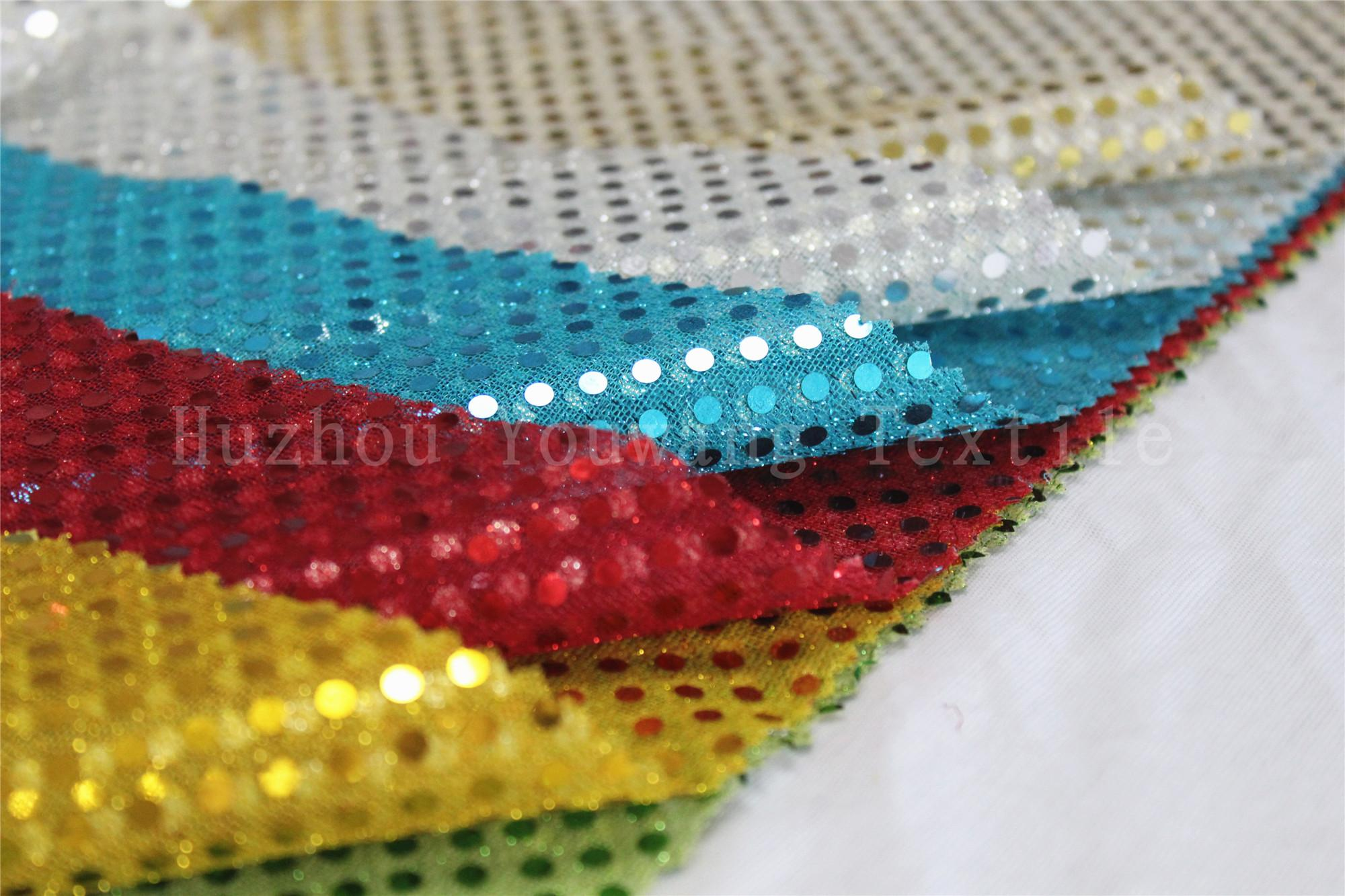 3MM Sequins Knitted Fabric 4