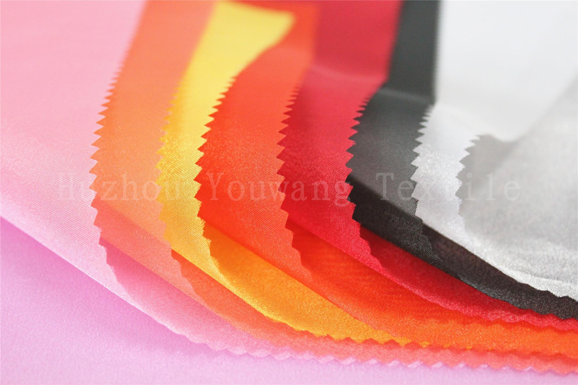 68D Crystal Organza Fabric 4