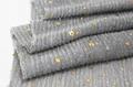 Sequins Elastic Lame Fabric