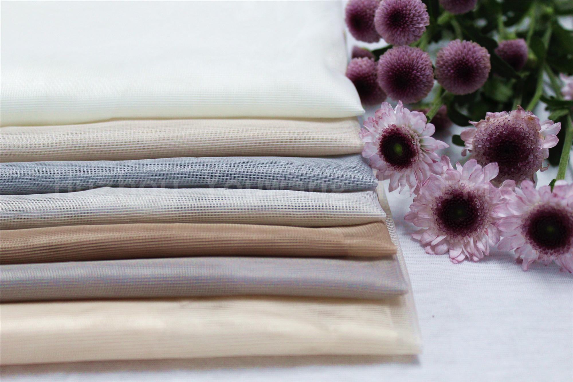 Soft Tull Fabric For Curtain Using 2