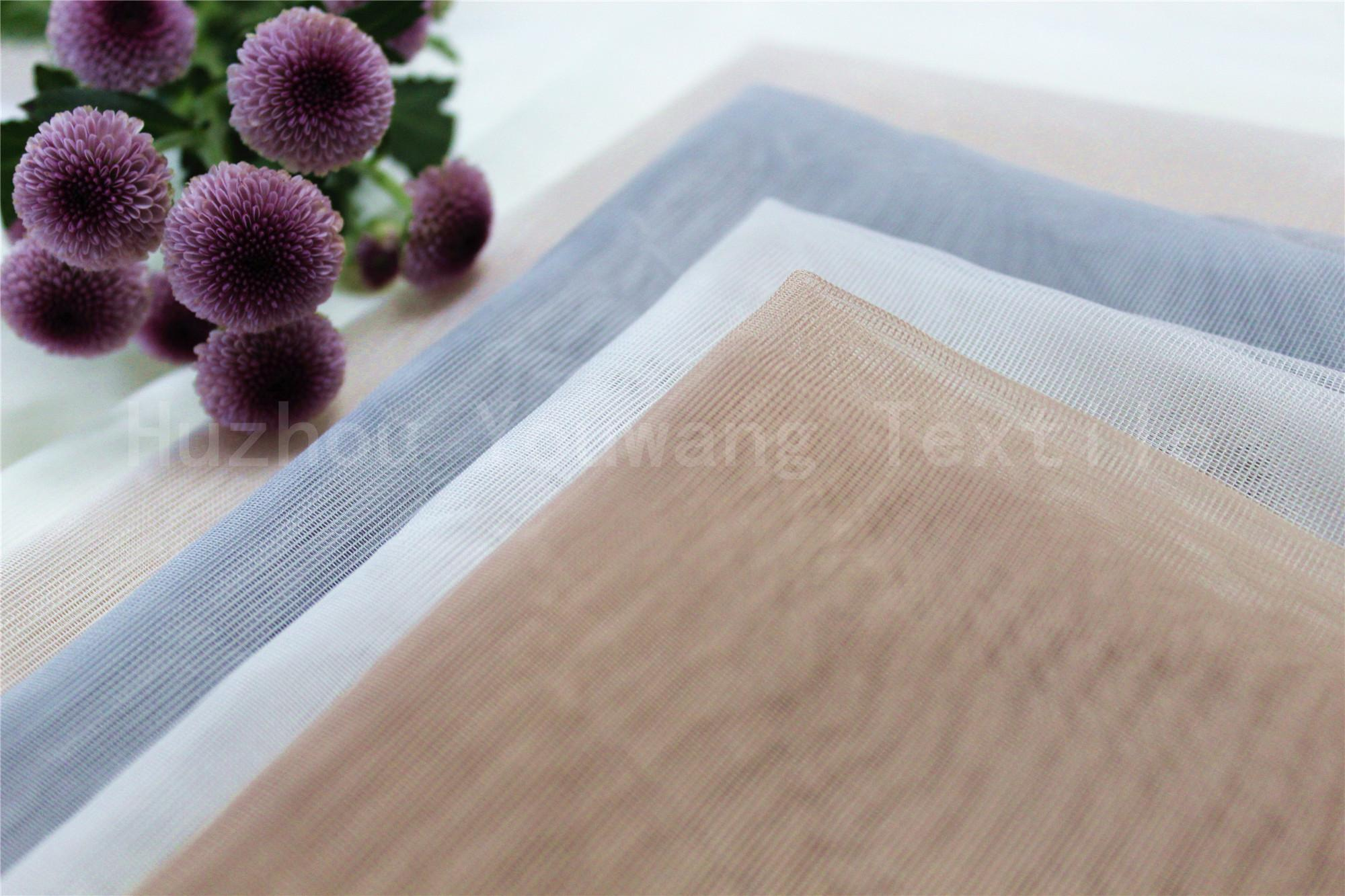 Soft Tull Fabric For Curtain Using 4