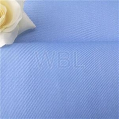 China 65 polyester 35 cotton 240gsm water oil repellent twill fabric for medical