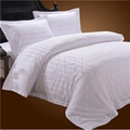 100% Cotton stripe bedding set sheet manufacture bed sheets cotton bedding  2