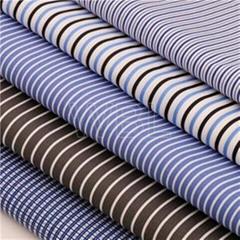Polyester cotton fabric TC Printed Shirting Fabric 45x45 133x72