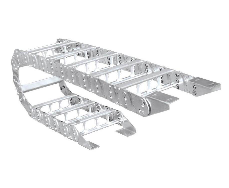 機床尼龍拖鏈工程坦克鏈穿線槽電纜保護鏈 3