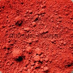 駐馬店彩色瀝青彩磚用氧化鐵紅顏料色粉