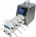 Bt100L-1A Flow Rate Peristaltic Pump Can