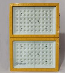 LED防爆燈200W加油站氾光燈車間煤棚隔爆型投光燈200W加氣站射燈