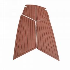 游艇甲板垫游艇房车仿柚木EVA防滑垫船用地毯冲浪板止滑垫