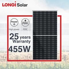 隆基光伏组件单晶半片430瓦435w440瓦445w450瓦455w460w太阳能电池板
