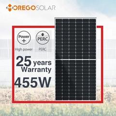 墨格66mm半切割太陽能電池板144電池445w450瓦455瓦太陽能電池光伏單板