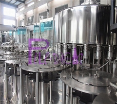 4 in 1 juice filling plant with bottle sterilizer and CIP cup
