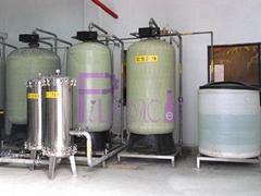 Quartz sand purifier with FRP housing