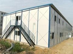 山东济南简易活动房搭建岩棉复合板可回收