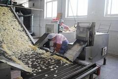 蝦片機 蝦片生產線 大連食品加工設備定製