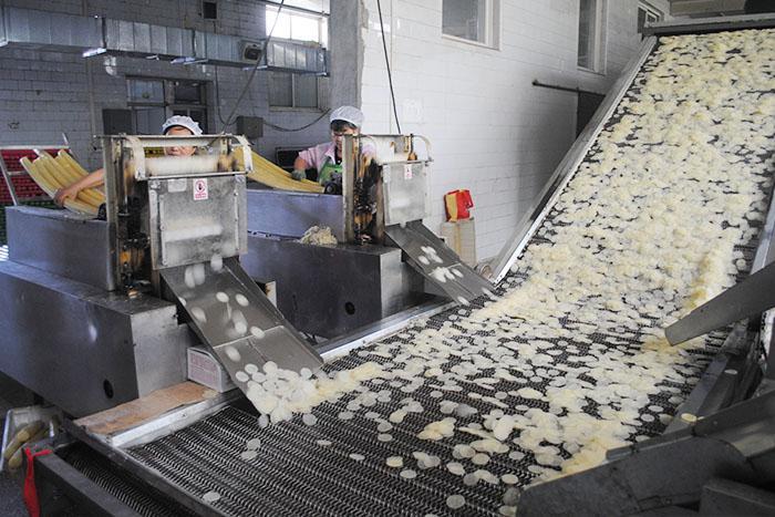 蝦片加工設備 大型蝦片加工流水線 1