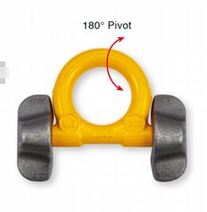 焊接型吊耳31T YOKE原装进口焊接吊环 双耳焊接环8-082
