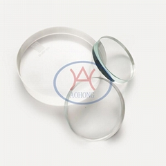 Round Gauge Glass for Observing Liquid Flow and Level
