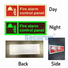 Fire Reflective signs noctilucence