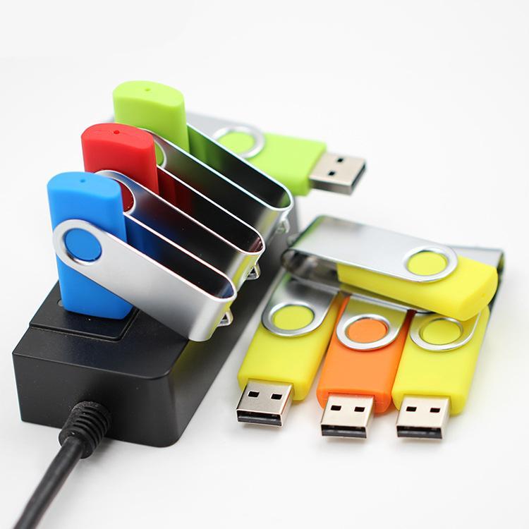Custom Branding Swivel USB Flash Drive 16GB
