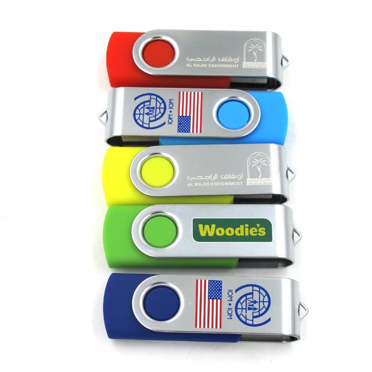 Custom Branding Swivel USB Flash Drive 16GB 2