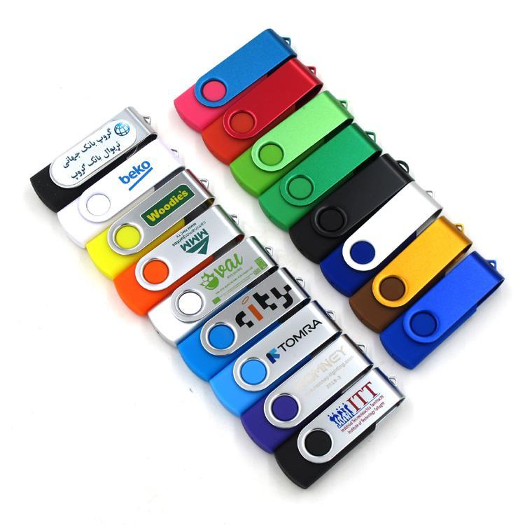 Custom Branding Swivel USB Flash Drive 16GB 3
