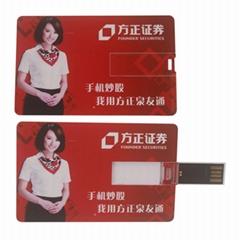 Full Colors Printing Card USB Flash Drive 32GB
