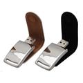 64GB Custom Branding Leather USB Flash