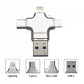 4in1 OTG Smartphone USB Falsh Drive