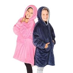 portable cozy Hoodie outdoor warm sweatshirt blanket for winter