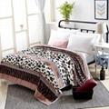 modern coral fleece blanket office nap flannel blanket gift blanket  4