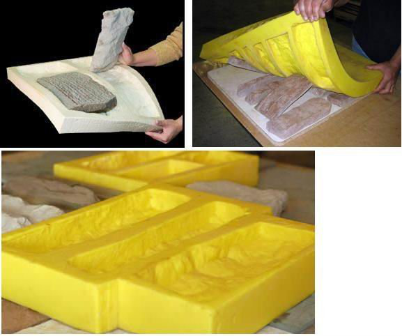 platinum cure silicone rubber rtv2 for artificial stone molds 3