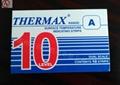 原装英国THERMAX测温纸热敏试纸变色温度标签示温纸10A:40-71℃ 1