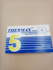 五格测温纸热敏试纸英国THERMAX测温纸37到290度