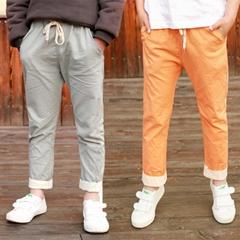 童装九裤儿童裤子 男女童短裤棉裤防蚊裤夏天童裤