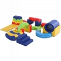 Multifunctional Soft play equipment for