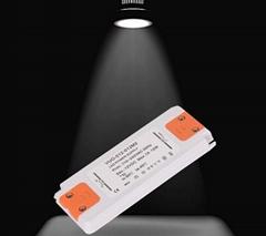 LED ultra-thin plastic shell power supply