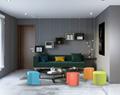 Creative and simple European style leaf stool