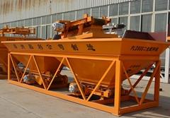 河南小型砂石布料機PLD800兩倉三倉混凝土配料機