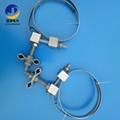 光缆引线夹具不锈钢带型夹具OPGW光缆引下线夹 1
