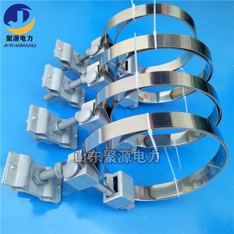 光缆引线夹具不锈钢带型夹具OPGW光缆引下线夹 3