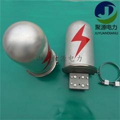 OPGW鋁合金光纜接頭盒24芯帽式接續盒