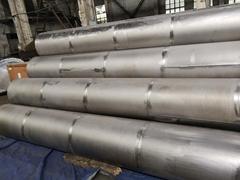 High Quanlity Gr1 Gr2 Pure Titanium Seamless Welded Tube for Heat Exchanger