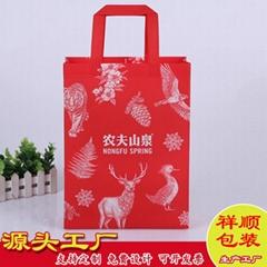 厂家定制印刷无纺布袋手提袋礼品袋购物袋可定制