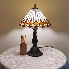 Chinese Factory E27 Living Room Table Lamp Vintage Glass Antique Bedroom Lamps