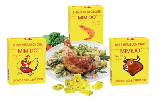 MIMIDO Seasoning Bouillon Cube chicken bouillon cube beef flavor cube shrimp  4