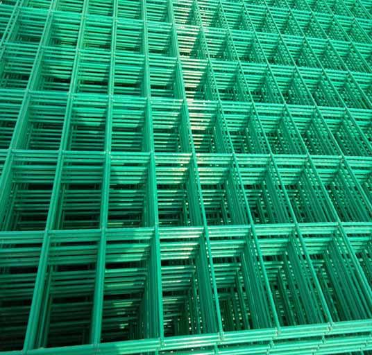 High Quality 4mm PVC Welded Wire Mesh Fence Home Garden V Folds Welded Wire Mesh 2