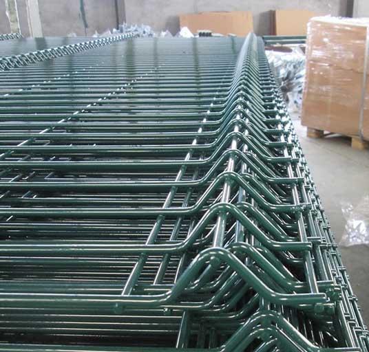 Home Garden Factory Trellis PVC Folding Welded v 3d Wire Mesh Fence for Sale   1